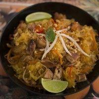 Spaghetti Squash Pad Thai | Dr. Mark Hyman