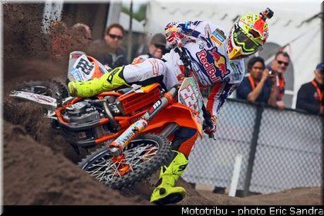 Antonio Cairoli : Motocross 2014 GP Pays Bas Valkenswaard .