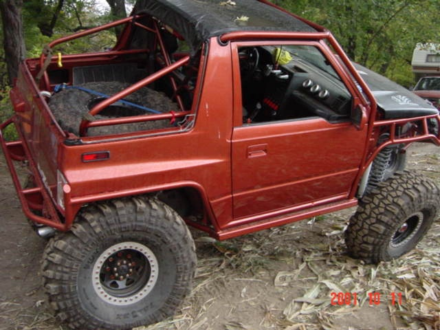 Jeep Cj5 72 1 Pc besides Suzuki Sidekick 1 6l 95 Hp moreover History3 further Suzuki Sidekick as well 149858 Chassis Swap. on geo tracker and suzuki sidekick