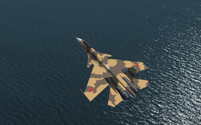Flight Simulation Graphics: Sukoi SU37