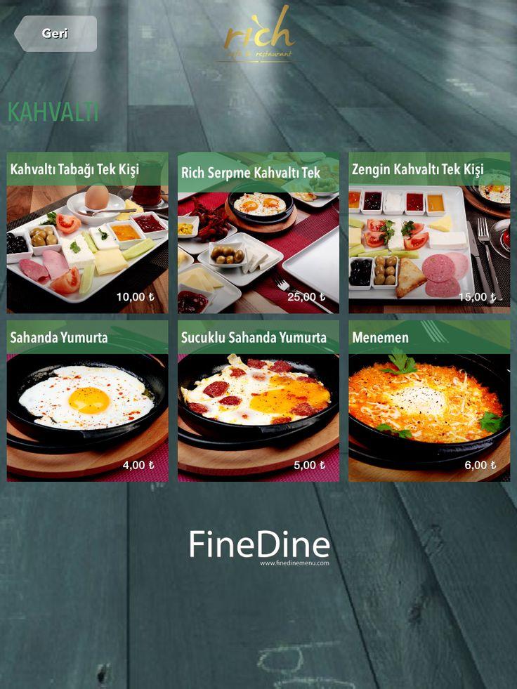 Fine Dine Menüleri kahvaltı fotoğrafı  http://www.finedinemenu.com/