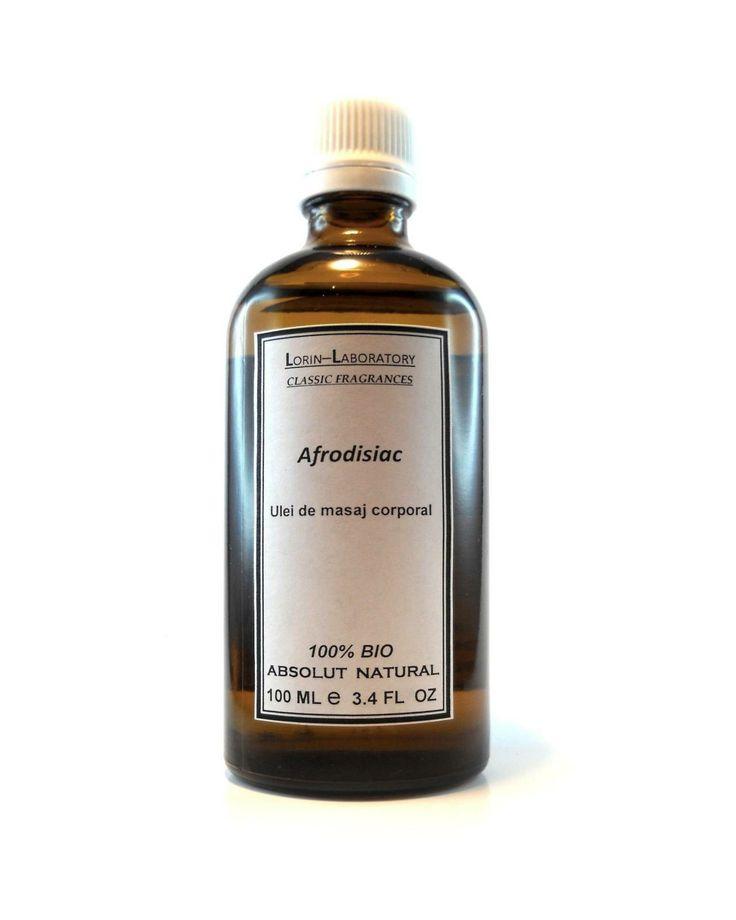 Produse cosmetice personalizate mai multe detalii pe www.lorinlab.com ulei corporal unisex Ulei Afrodisiac