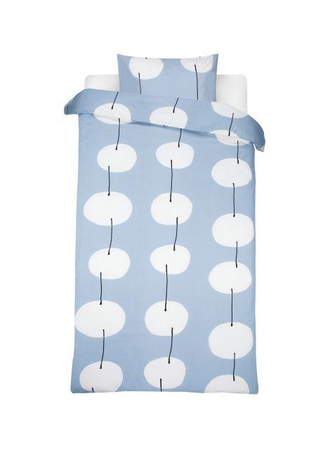 Twisti duvet cover set (grey, off-white) |Décor, Bedroom, Duvet covers | Marimekko