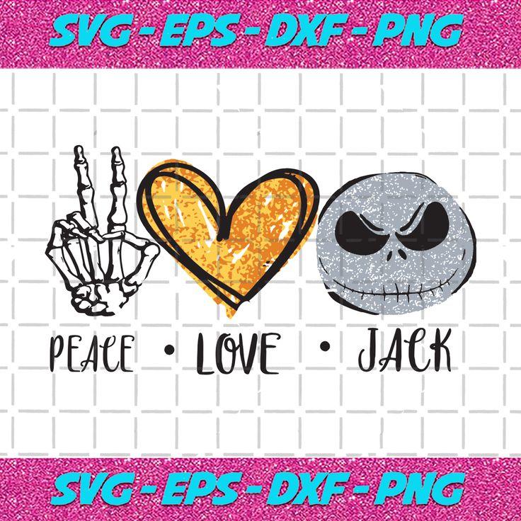 Download Peace love jack svg, peace love svg, jack svg, jack shirt ...