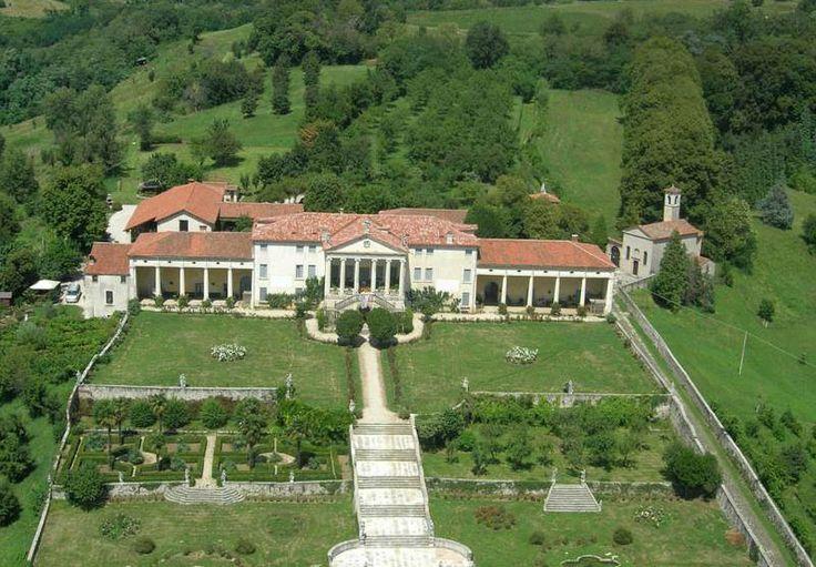Villa Piovene Porto Godi Lugo Di Vicenza And Surroundings