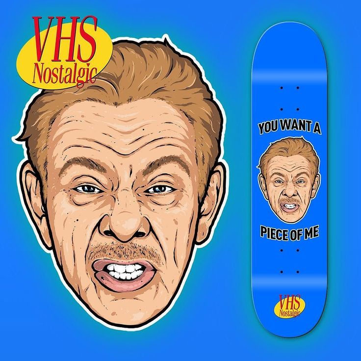 Can't wait til these drop! @vhs.nostalgic art by @theartofdrop ps stix wood by the legends at @4128dist and the amazing memories from frank himself. He's my favourite character from my favourite show ever! Seinfeld will always be number 1  only making 50. Gtwyc #seinfeld #frankcostanza #vhs #skateboards #skateboardcollectors #skateboardcollection #psstix by skateboardhoard