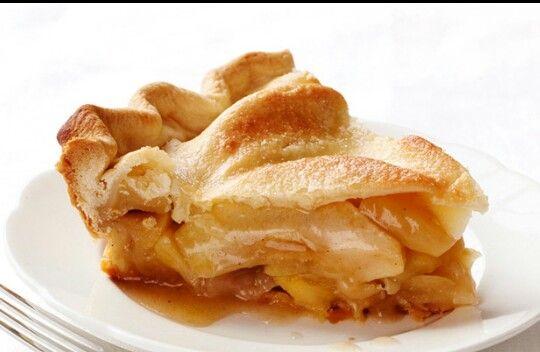 La receta que yo uso ya sea para strudel, empanadas y pies es la misma: 6-8 manzanas maduras, peladas y en rodajas o trozos medianos; 2 cdas de harina; ralladura de un limón; 1/4 o 1/2 taza azúcar morena (al gusto), 1/2 cdita canela; 1/2 cdita nutmeg o cardamomo; una pizca de clavo en polvo; 2cdas de mantequilla cremada a temp ambiente. Se mezcla todo en un recipiente y se acomoda