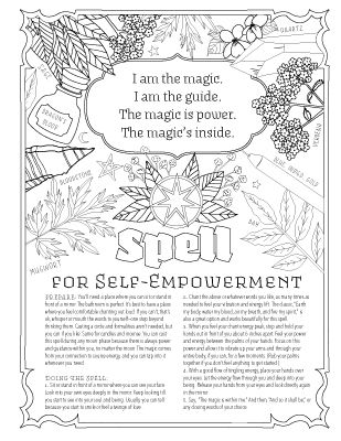 Book Of Spells Book Of Shadows Witch Coloring Pages Coloring Books
