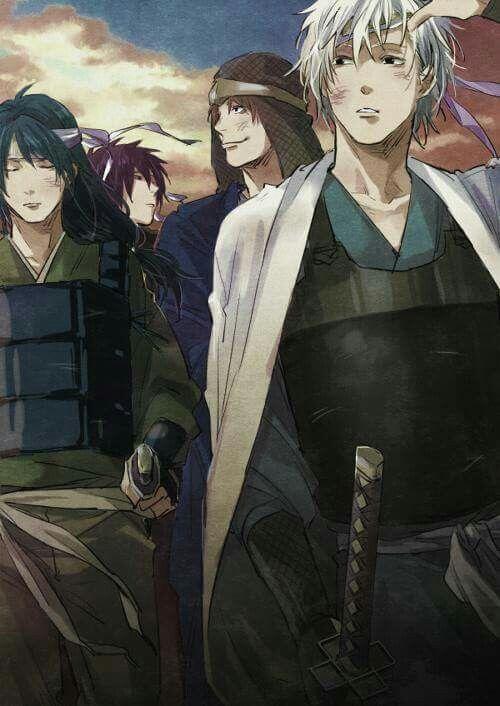 Gintama, Joy4, Gintoki, Takasugi Shinsuke, Katsura Kotarou, Sakamoto Tatsuma