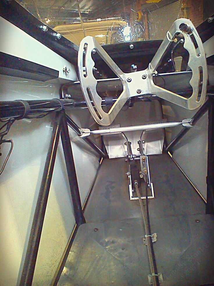 Looking inside the junior dragster
