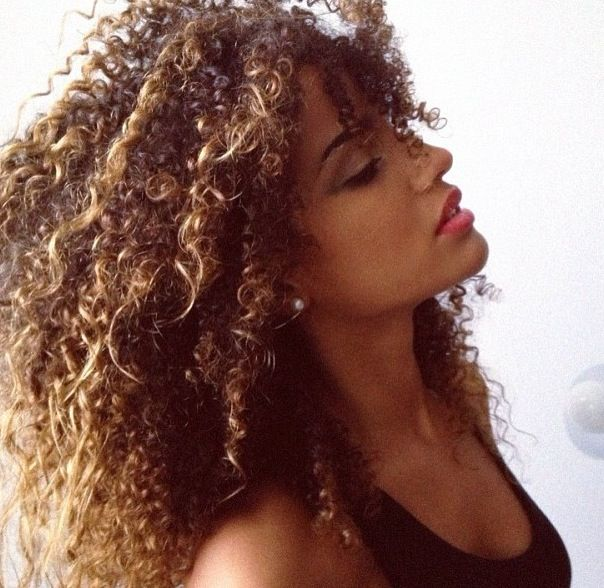 crazy biracial hair