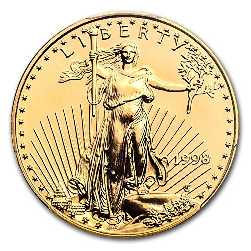 1998 1/2 oz Gold American Eagle MS-70 PCGS (Registry Set) MS-70 >>> Want additional info? Click on the image.