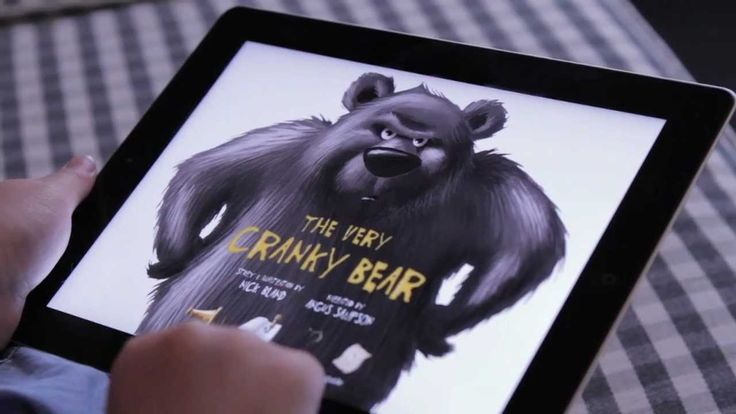 Read The Very Cranky Bear book via iPad using this interactive app! Great for kids who may not sit still for your usual book! Purchase for $5.99 through the iTunes app store.