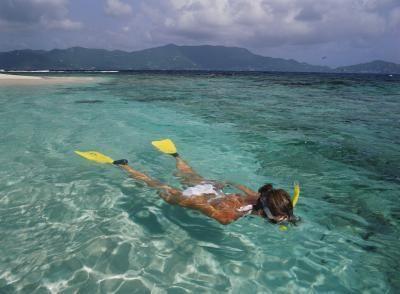 Grenada's Caribbean coast has clear reef views. 5 best snorkeling beaches.