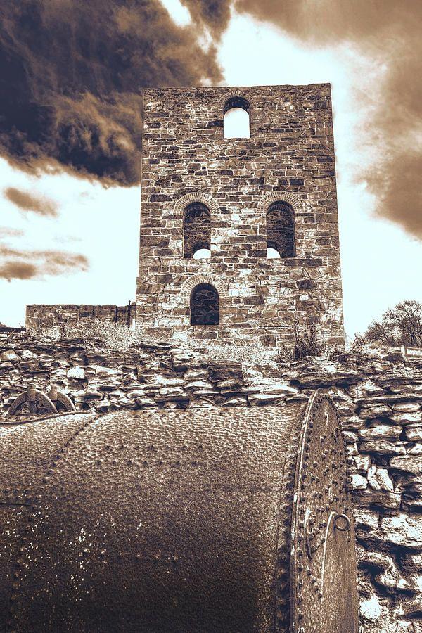 Mine Ruins Photograph by Wayne Sherriff - Burra Copper Mines, South Australia.