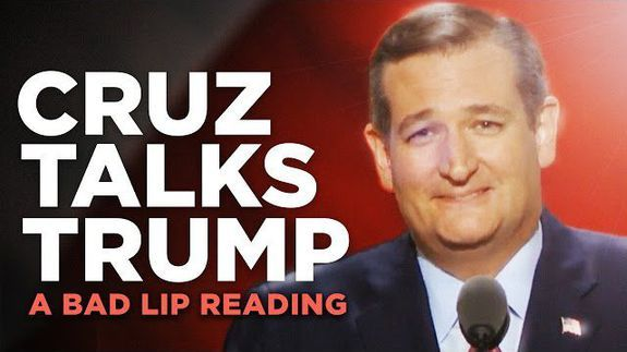 'Bad Lip Reading' fixes Ted Cruz's Republican convention speech