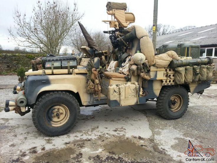 Land Rover 110 HiCap V8 SAS SOV Special Operations Vehicle