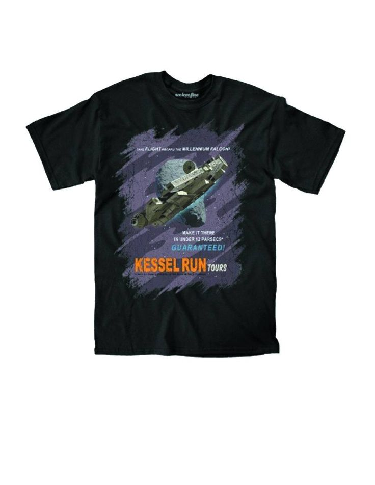 Mark your favourite Kessel Run tour holiday with this iconic t-shirt.