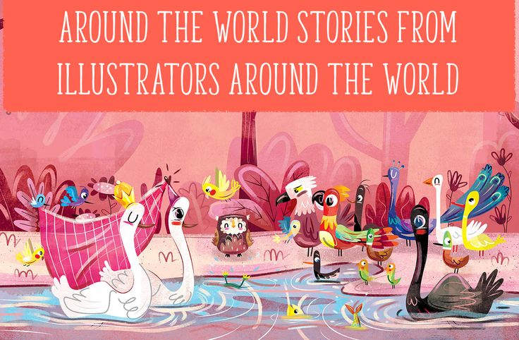 On the blog: United we stand. Why it's important we use around the world stories from illustrators around the world: http://www.storytimemagazine.com/news/making-storytime/to-illustrators-everywhere-united-we-stand