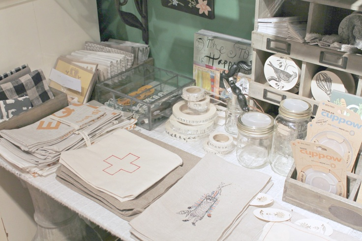 I love the linen ribbon at Paper-Ya.  See more pics here!