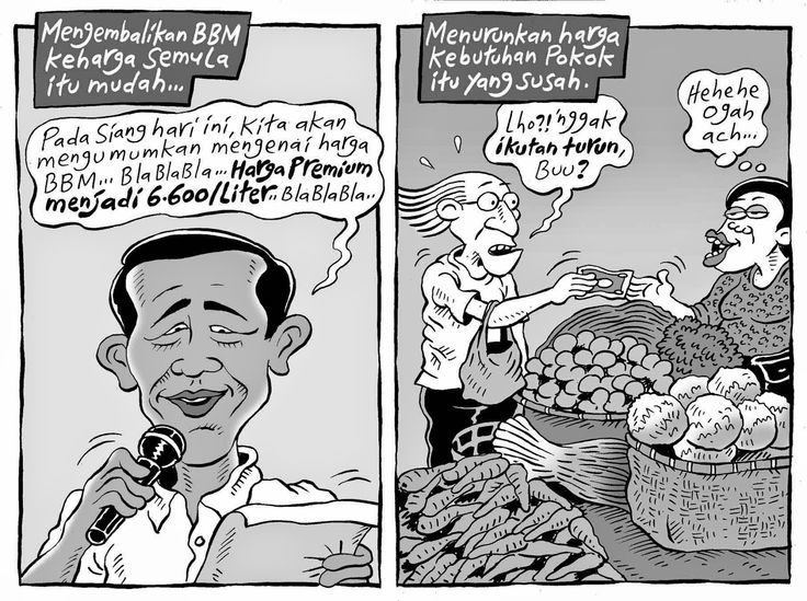 Mice Cartoon, Kompas - 18 Januari 2015: BBM Turun (Lagi)