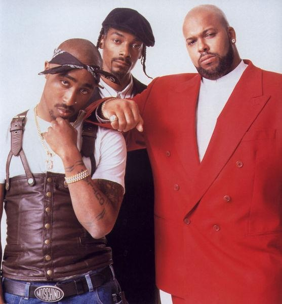 Welcome to Death Row (2Pac, Snoop Doggy Dogg, Suge Knight circa 1995)
