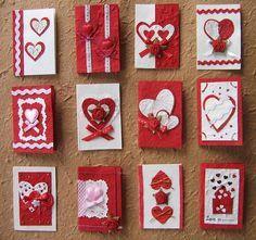 Schön Handgemachte Valentinstag Karte