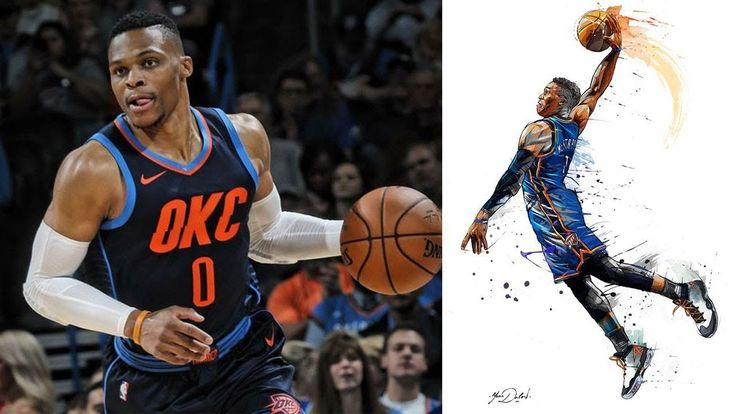 Russell Westbrook Parts The Red Sea and Drops the most explosive dunk fo...
