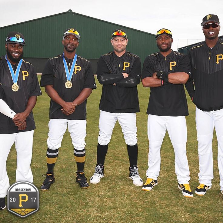 """6,188 Likes, 15 Comments - Pittsburgh Pirates (@pittsburghpirates) on Instagram: """"Back in camp! Your starting Buccos were well represented in the WBC. ⚾️ #PiratesST #WBC2017"""""""