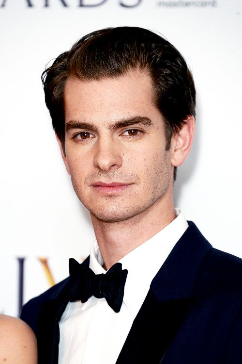 Andrew Garfield at The Olivier Awards 2017 at Royal Albert Hall on April 9, 2017 in London, England.