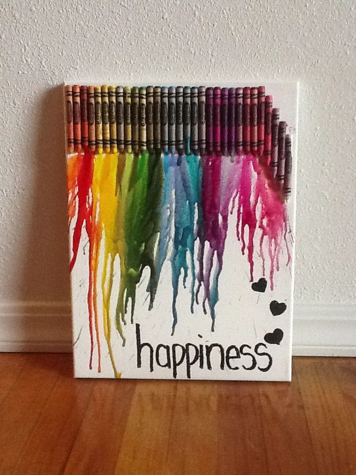 Melted crayon art tips neatos diy pinterest for Melted crayon art techniques