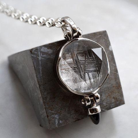 Meteorite Key Ring