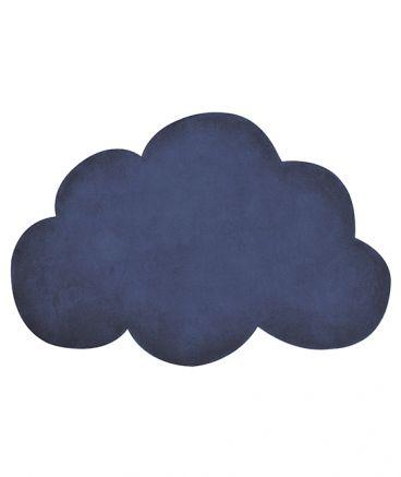 tapis chambre garcon nuage bleu marine - Tapis Chambre Bebe Garcon