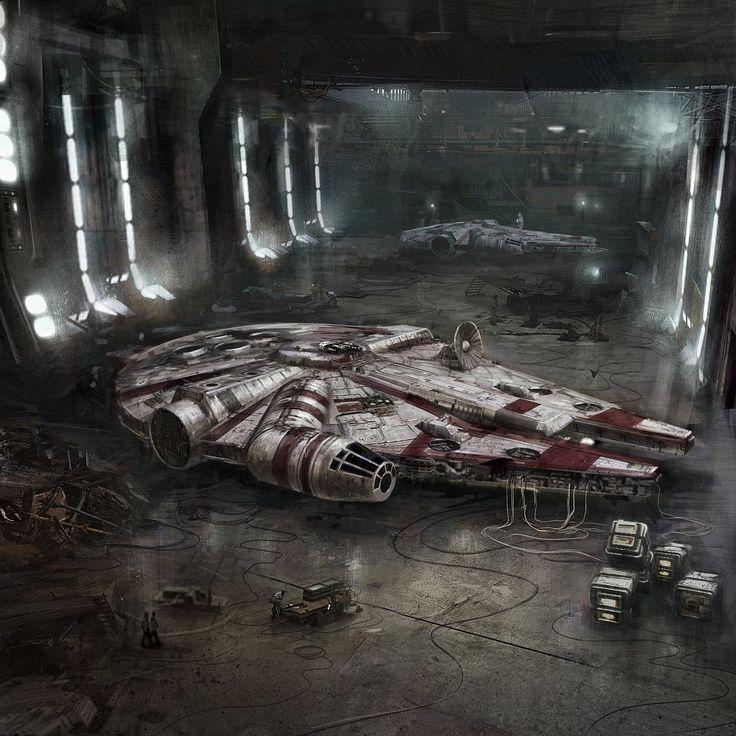 ArtStation - Star Wars CCG - Light Frighter, Michel Koch