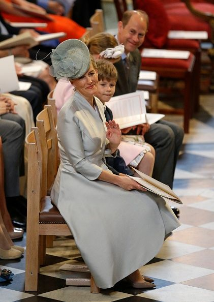 Royal Family Around the World: National Service Of Thanksgiving To Celebrate The Queen's 90th Birthday at St Paul's Cathedral on June…