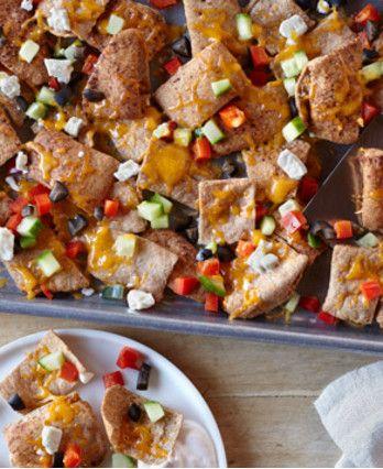 Greek nachos, Nachos and Game on Pinterest