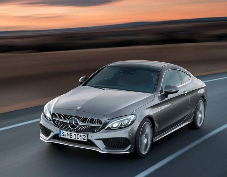 New Mercedes Benz 2017 C-Class Coupe , - , Mercedes Benz unve...