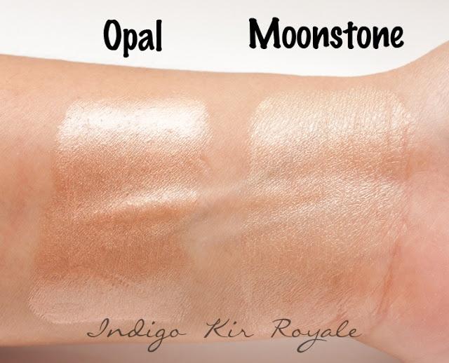 BECCA SHIMMERING SKIN PERFECTOR IN MOONSTONE & OPAL | Indigo Kir Royale