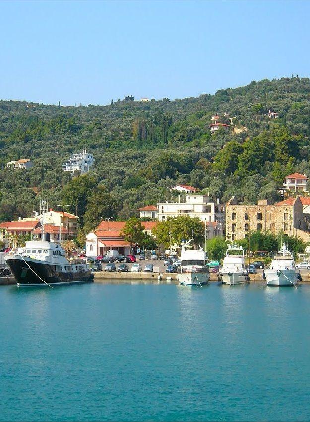 Kymi's safe port ... Kymi, east Evoia