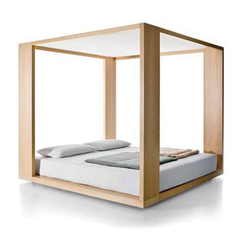 furniture :: temple four poster bed by claesson koivisto rune for, Schlafzimmer entwurf