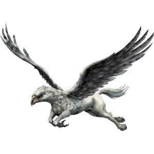 Buckbeak Hippogriff Flying - tattoo idea                                                                                                                                                                                 More