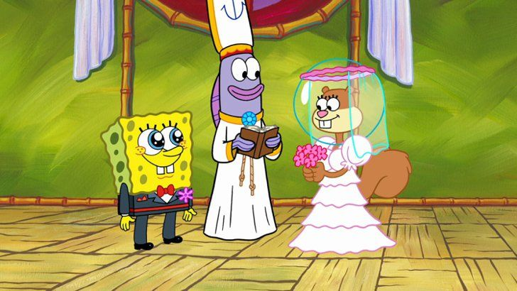 Pin for Later: The Beckhams Will Be Sharing Their Wedding Anniversary With These 1999 Pop Culture Moments And Most Importantly, We Were Introduced to Spongebob Spongebob Squarepants first aired on 1 May 1999 with an audience of 6.9 million viewers, and we're just as obsessed with him today as we were then!