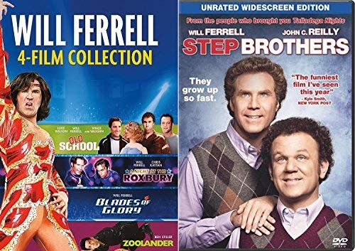 Amazon Com Will Ferrell Collection Comedy Set 5 Movie Favorites