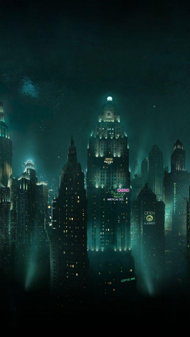 Bioshock city rapture wallpaper free desktop backgrounds 19201080