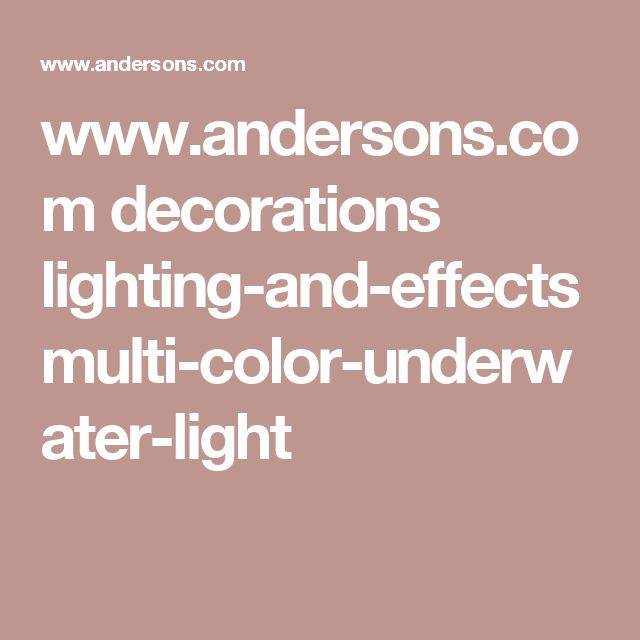 www.andersons.com decorations lighting-and-effects multi-color-underwater-light