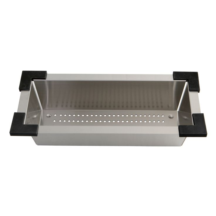 Gourmet Scape BKCLDR16 Watford Accessory Colander Kitchen Sink - Price: $109.95 & FREE Shipping over $99