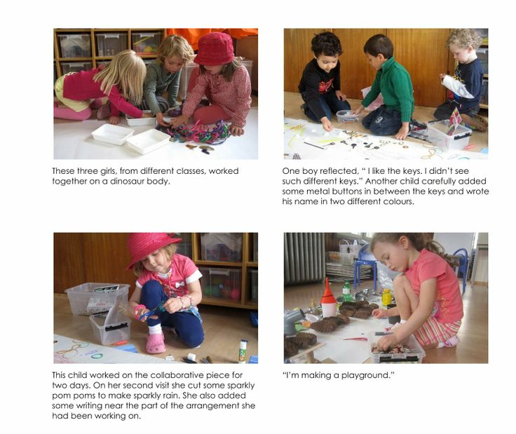 """Documentation linked with working with 'beautiful stuff' at Early Learning at ISZL ("""",)"""