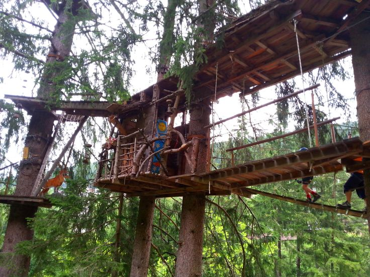 Parco avventura Col de Flam a Ortisei