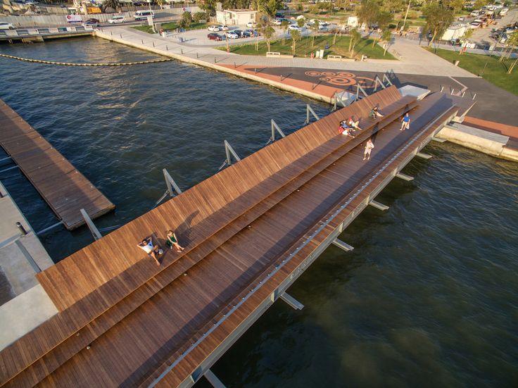 Bostanli Footbridge & Sunset Lounge- Izmir, Turkey- Studio Evren Basbug
