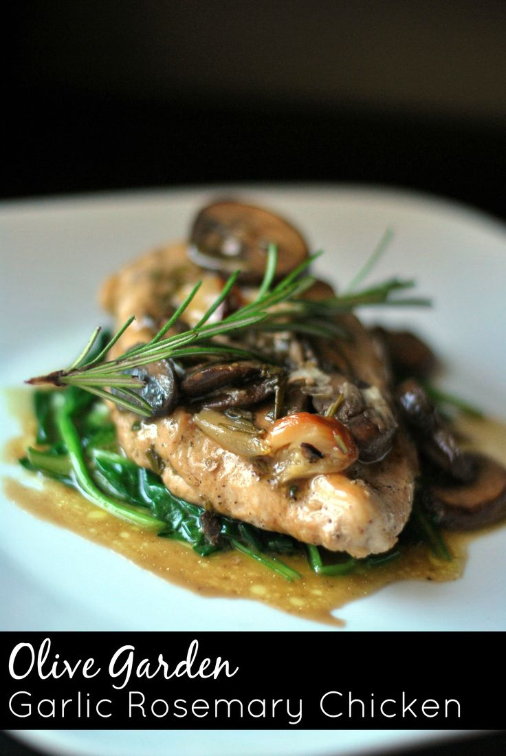 Olive Garden Garlic Rosemary Chicken | Aunt Bee's Recipes